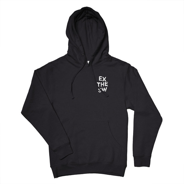 Organ Mountain Outfitters - Outdoor Apparel - Hooded Pullover - EXSW Adventure Hoodie - Black Front.jpg
