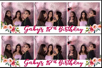 Gaby's 18th Birthday