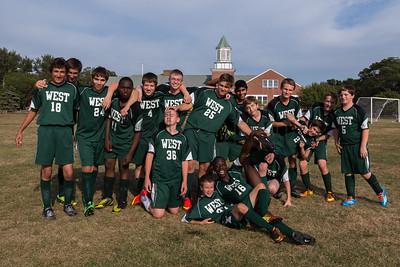 Sturgis West JV Boys Soccer (vs. New Testament)(2014)