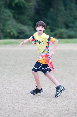 2013-09-25 Flag Football Practice