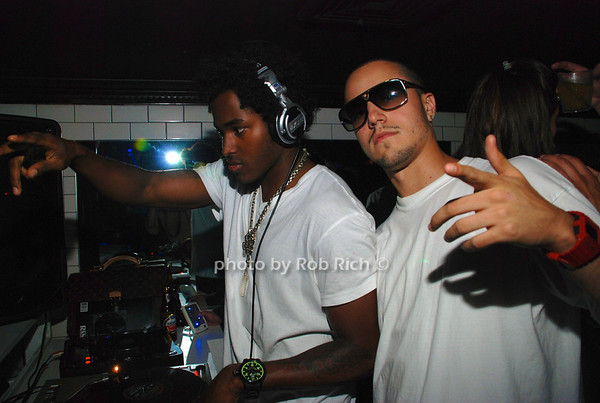 EMillz, DJ Ruckus photo by Rob Rich © 2008 516-676-3939 robwayne1@aol.com