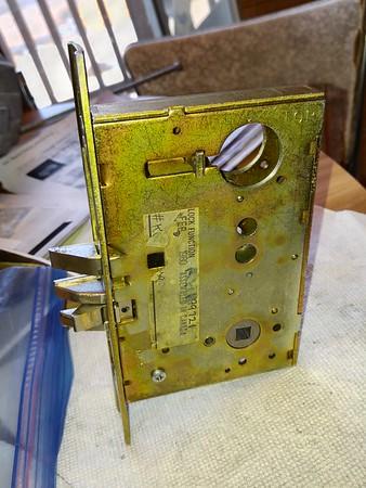 Schlage Storeroom Lock K6080 Changed from RHR to LHR