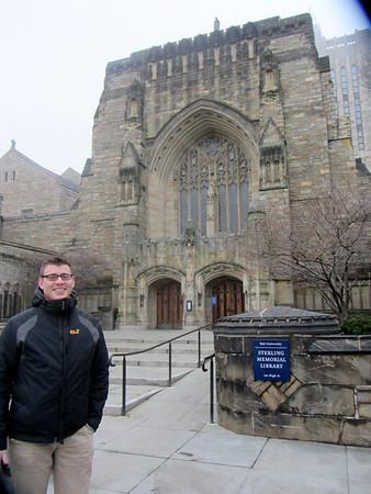 2013-01-13 Nick visits Yale University