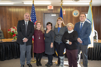 2020 Burns Harbor Swearing In