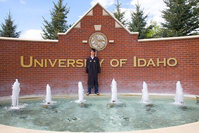 Ryan Graduation U of ID, May 14, 2011