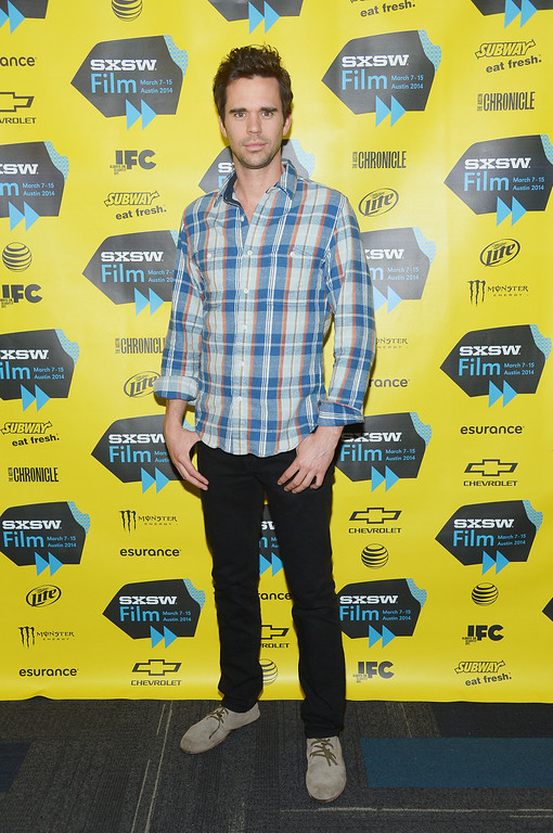 """. Actor David Walton attends the \""""Break Point\"""" premiere during the 2014 SXSW Music, Film + Interactive Festival at Topfer Theatre at ZACH on March 8, 2014 in Austin, Texas.  (Photo by Michael Loccisano/Getty Images for SXSW)"""