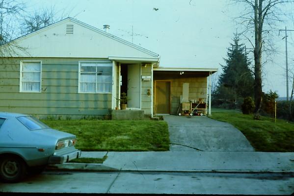 First House in Longview, WA 1981