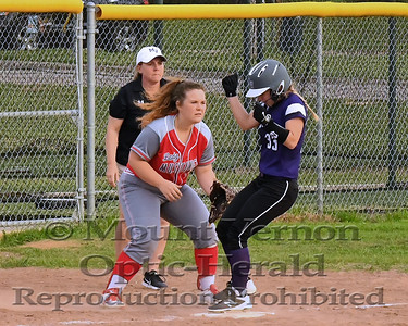 2017 Lady Tigers vs Chisum Lady Mustangs 3/26/2018