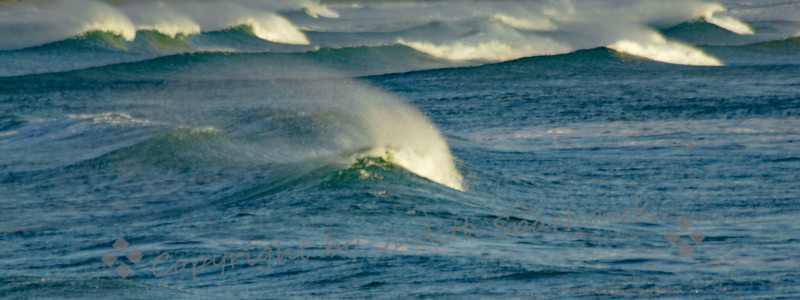 Waves With Spindrift - Judith Sparhawk