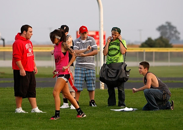 SNHS Football vs Powderpuff 2008