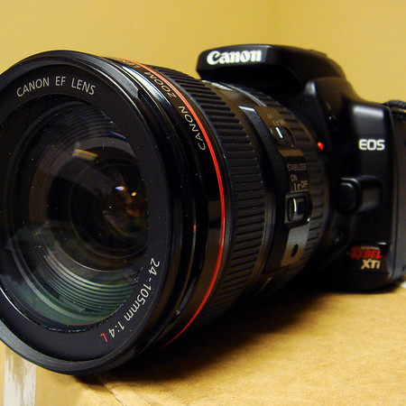 Canon EOS-400D (Digital Rebel-XTi) Serial Number 0720 3281xx