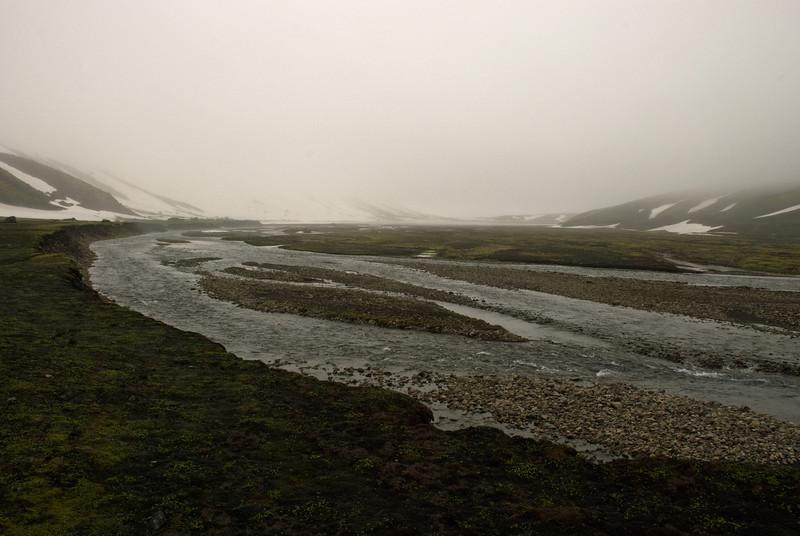 Syðri-Ófæra. Laugarháls framundan
