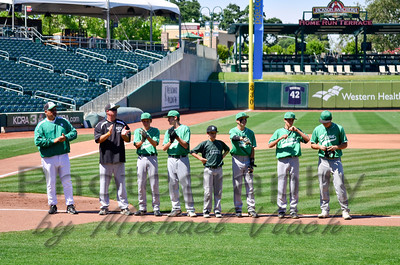 2013 Dixon JV vs Union Mine at Raley Field