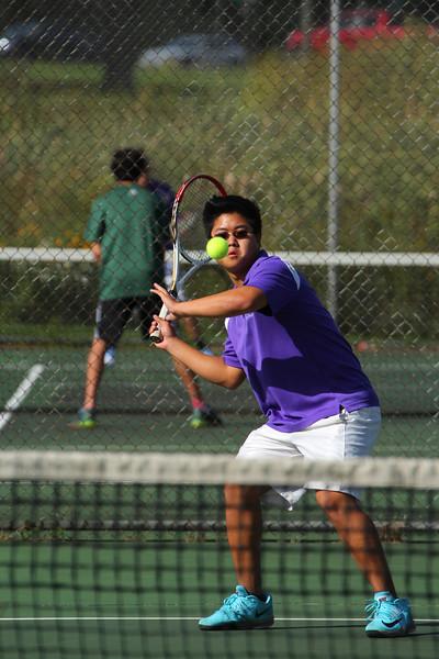 Tennis Boys vs. Hackett - 9/16/14 - KCHS