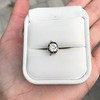 .90ct Late Victorian Antique Cushion Cut Collet Component 6