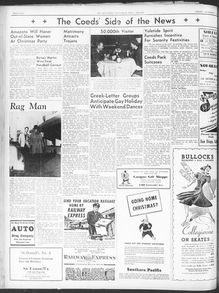 Daily Trojan, Vol. 30, No. 57, December 09, 1938