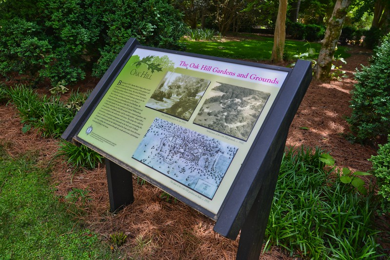 Garden interpretation at Oak Hill