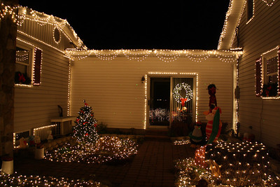 Fabrizio's Christmas Light Display, Brockton (11-27-2011)