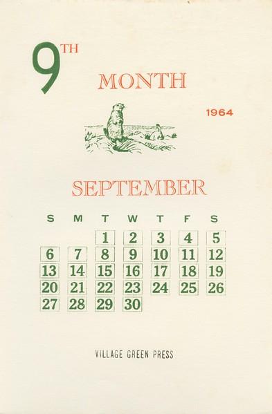 September, 1964, Village Green