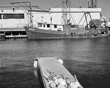 fishing vessel - Gloucester harbor