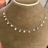 2.88ctw 18kt White Gold Scatter Necklace 19