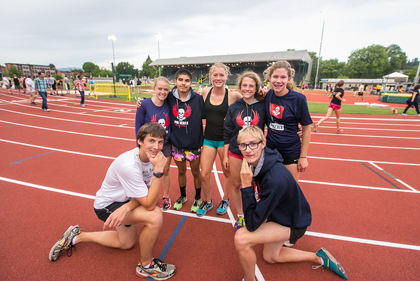 OSAA Track & Field Championships - Day 1, 2014