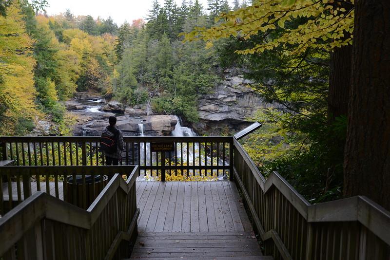 Lori Blackwater Falls.JPG