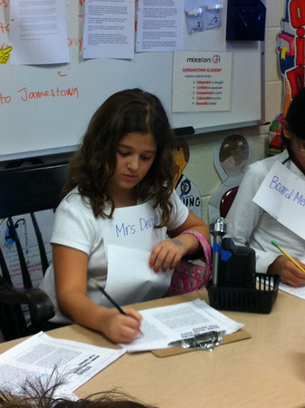 4W Reader's Theater: The Landry News