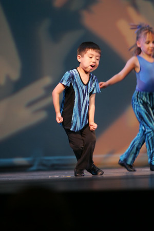 George's dance rehearsal 2007