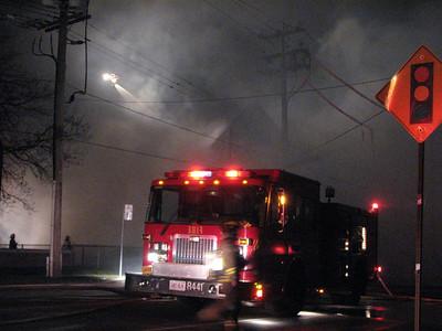 October 22, 2007 - 4th Alarm - 4333 Bloor St. West