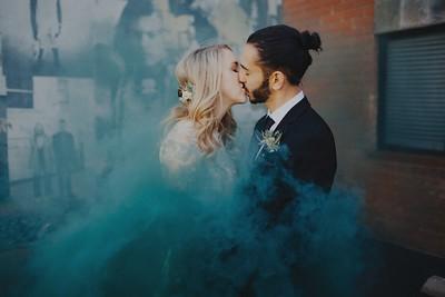Emily & Sash. Married.