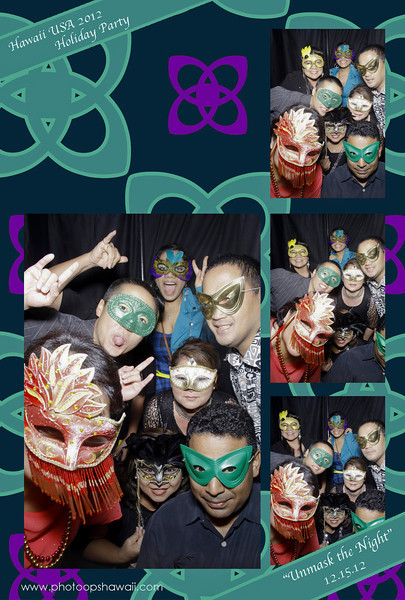 HawaiiUSA FCU Holiday Party 2012 (Photo Booth)