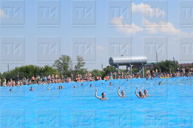 26.07.2018 День Нептуна в открытом бассейне. автор: Нурлыева Лиза