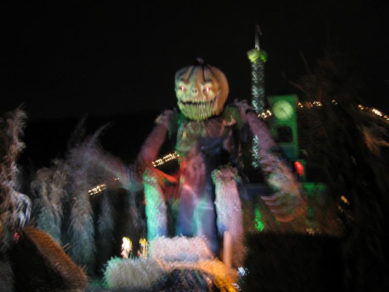 It was Haunted Graveyard season. (Blurry.)