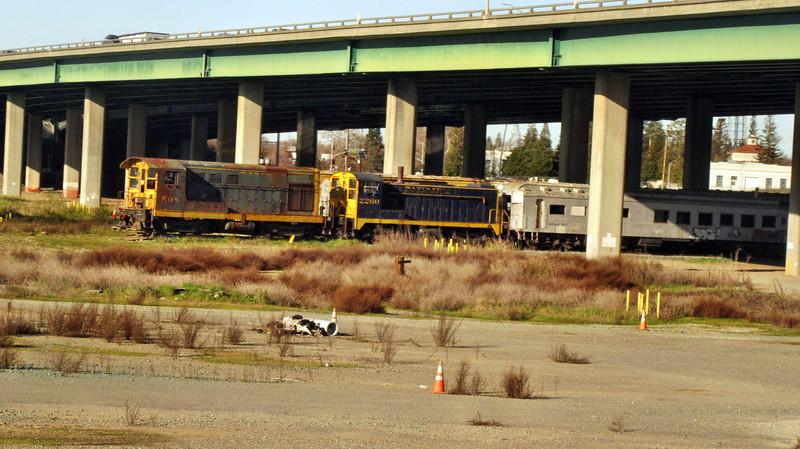 Amtrak's California Zephyr in California