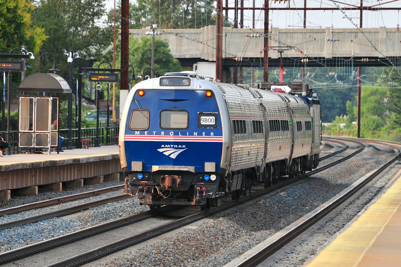 After being chased out of town by a 12th inning Bryce Harper home run, the NY Mets travel to their next game in Philly in high style riding in Amtrak's conference car.