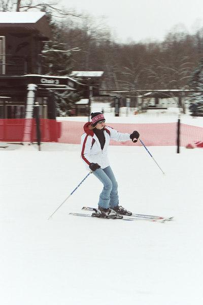 Christmas Skiing Ohio 2002