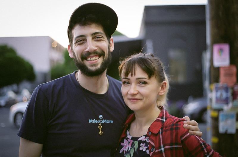 Joshua & Inga Goldbard. San Francisco 2019.