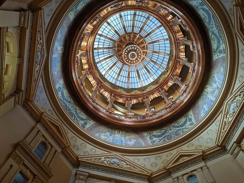 Kansas Capitol Dome 2
