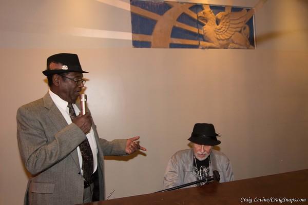 Cal Bezemer and Larry Covin at Bar Fedora Wanda Ray Willis