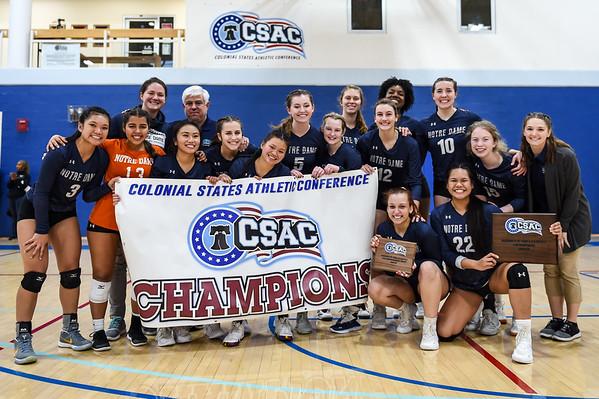 NDMU v Cedar Crest - Volleyball CSAC Championship - 11.09.19