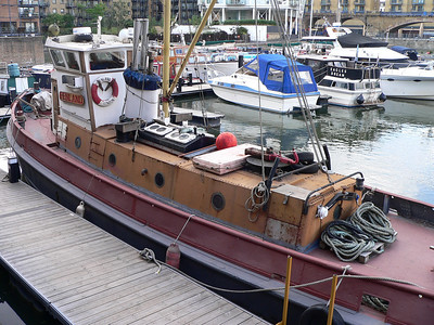 May 2009 - Otford Palace, Fraser's Tug, Upnor Castle