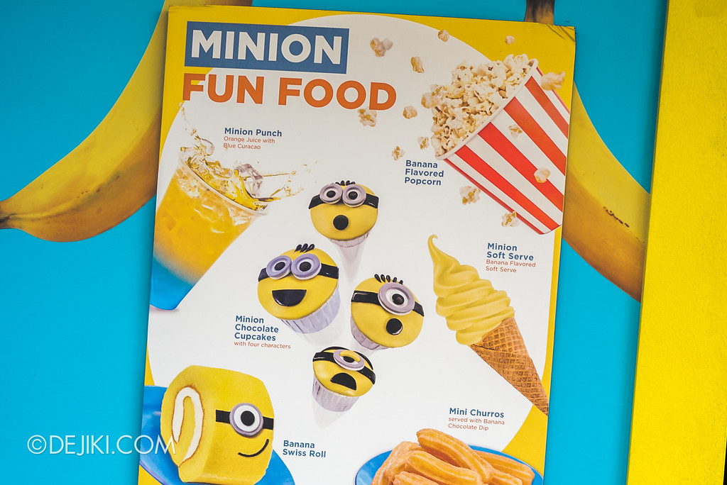 Universal Studios Singapore Park Update July 2017 - Despicable Me Minion Breakout Party event / Pop-a-nana Minion Fun Food