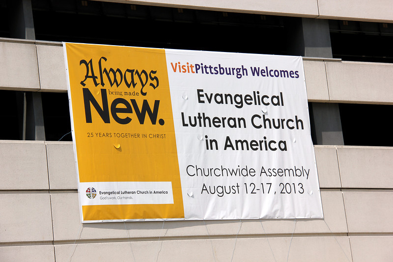 2013 ELCA Churchwide Assembly in Pittsburgh, Pa.