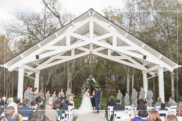 Gorgeous Wedding at The Springs in Wallisville Texas