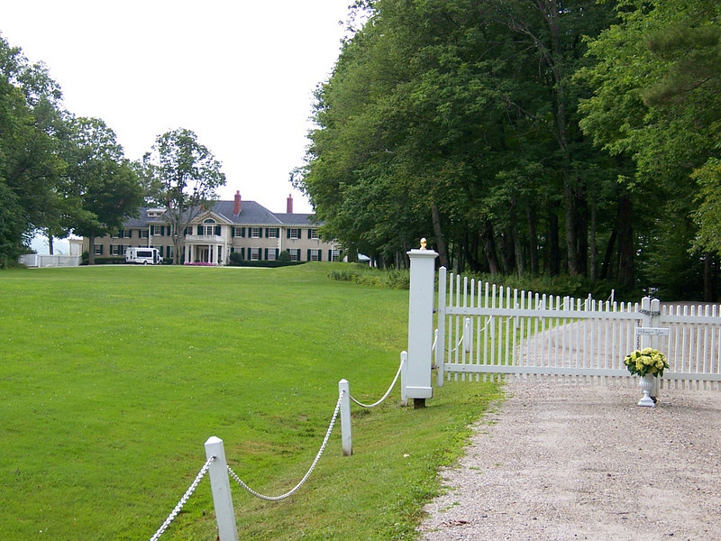 """""""Hildene"""" one of the homes of Robert Todd Lincoln."""