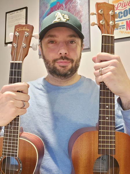 JEFF HOWARD FINDS HIS MUSICAL PASSION IN THE UKULELE