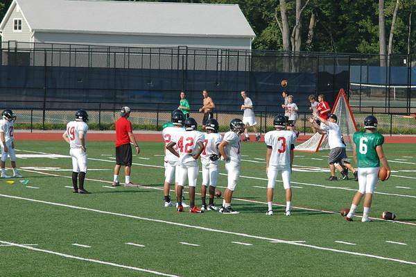Football: Preseason & Headshots