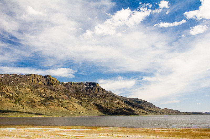 Hart Mountain and Hart lake.