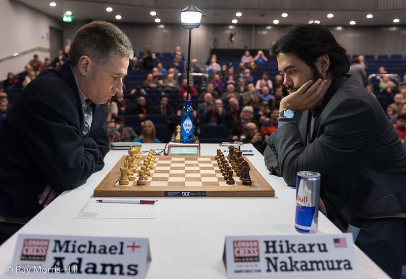 Round 5: Michael Adams vs Hikaru Nakamura